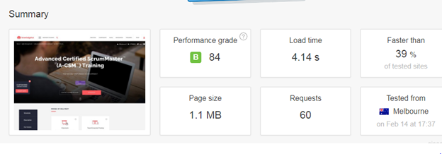 website load times