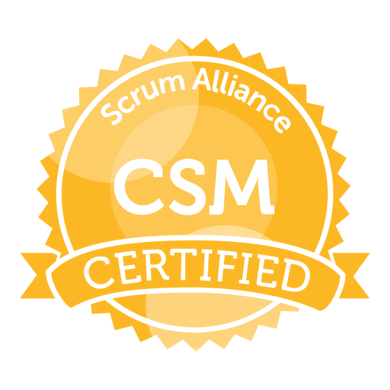 CSM Certification Logo